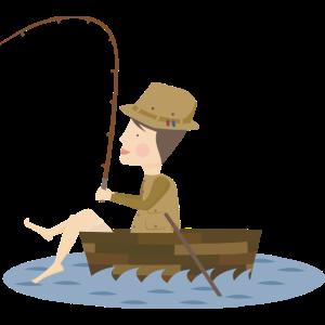 Ein Fischer und seine Entscheidung