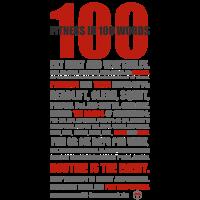 100 WORDS light shirt