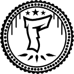 F Logo in Schwarz/Weiß