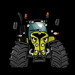 0300 tractor hellgrün