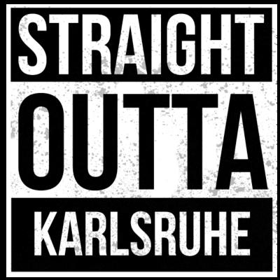 Straight Outta Karlsruhe!   Beste Stadt - Straight Outta Karlsruhe. Direkt aus Karlsruhe! Das ideale Geschenk für jeden aus Karlsruhe - witzige,style,rap,outta,geboren,cool,Weihnachtsgeschenk,Weihnachten,Straight,Statement,Stadt,Sprüche,Spruch,Shirt,Rap,Lustig,Karlsruhe,Hop,Hip,Heimatstadt,Heimat,Ghetto,Geschenk,Geburtstag