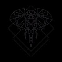 Polygon Elefant