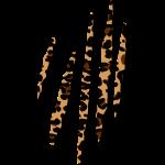 Leopardenfell Muster Kratzer Wildlife Safari 3D