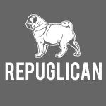 Mops Hund T-Shirt Amerika