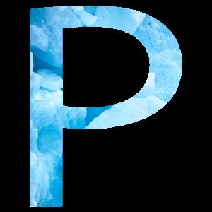 P Blue Ice
