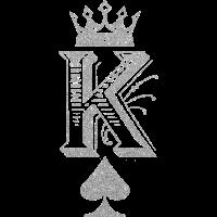 King Spades silber