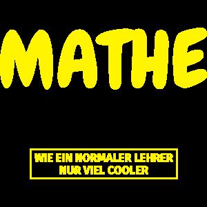 Mathelehrer Geschenk