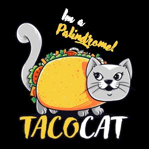 Taco Katze Fastfood Tacocat lustig witzig Geschenk