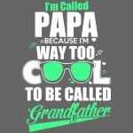 Cooles Papa Opa Grandfather T-Shirt Englisch