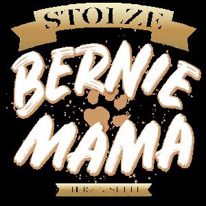 Stolze Bernhardiner Mama Shirt Bernie Hunde