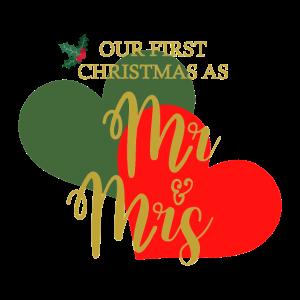 Unser erstes Weihnachten als ...