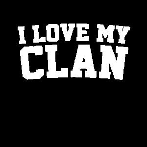 Ich liebe meinen Clan Familientreffen