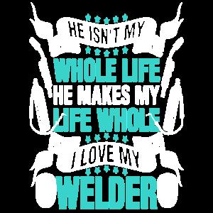 Ich liebe mein Schweißer-Hemd