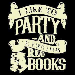 Ich meine lesen Bücher Shirt