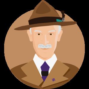 Baden Powell Wohnung Vektor