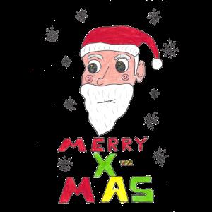 Weihnachtsmann Merry X-MAS