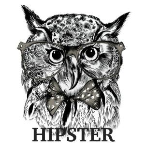Hibou Hipster
