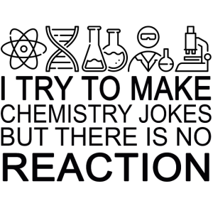 Ich versuche, Witze Chemie zu machen