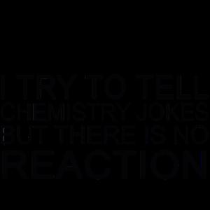 Ich versuche, Witze zu erzählen Chemie