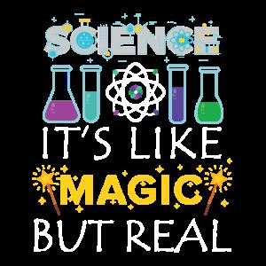 Wissenschaft T-shirt Kinder