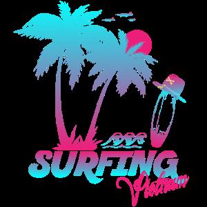 Surfing Vietnam