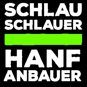 Schlau, schlauer Hanfanbauer