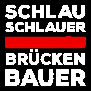 Schlau, schlauer Brückenbauer