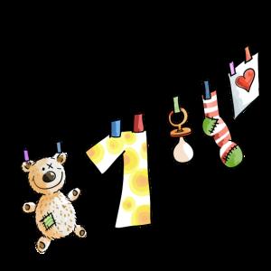Happy Birthday - Erster Geburtstag - Baby - süß