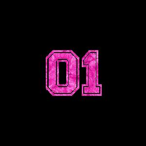 01 - College Style Pink Geschenk Geschenkidee