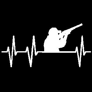 Jäger Förster Jagd Gewehr Schießen Herzschlag Herz