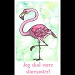 Jeg skal være storesøster! (Flamingo)