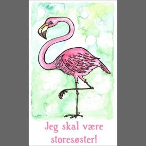 Jeg skal være storesøster Flamingo