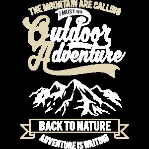 Outdoor Adventure Berge Wandern Natur Abenteuer