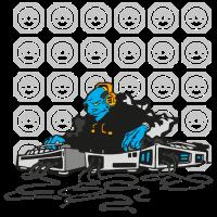 dj mix blau fremd
