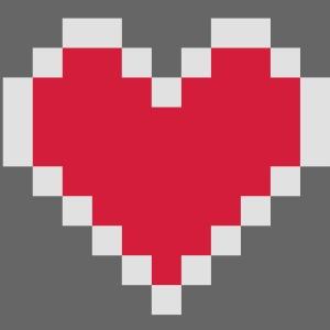 Pixel Herz 2C