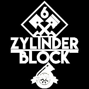 6 Zylinder Block inkl. Turbo!
