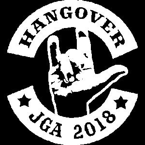 Hangover - JGA 2018