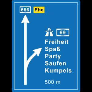 Autobahn - JGA-Shirt