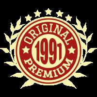 1991 Original Geburtstag Geschenk Jahrgang