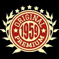 1959 Original Geburtstag Geschenk Jahrgang