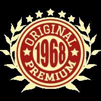 1968 Original Geburtstag Geschenk Jahrgang
