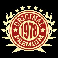 1978 Original Geburtstag Geschenk Jahrgang
