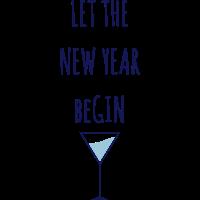newyear gin T-shirt