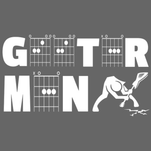 Geetar / Guitar Man in guitar chords