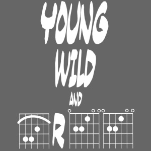 Young wild and free in guitar chords