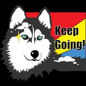 Husky Keep Going