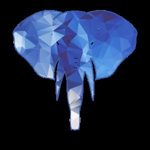 Elefant Geometric