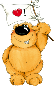 Valentinstag Shirt: Ein verliebter Bär