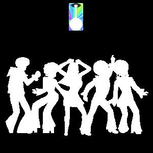 Saturday Night Fever Tanzen unter Diskokugel