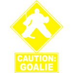 Caution: Goalie (hockey)